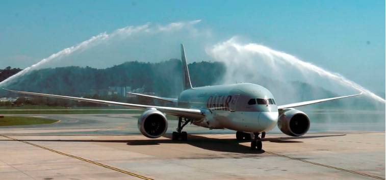 Qatar Airways commences inaugural service to Penang
