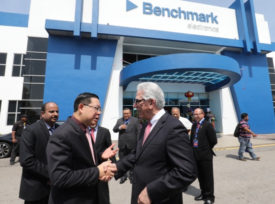 Benchmark Electronics expands third facility in Penang