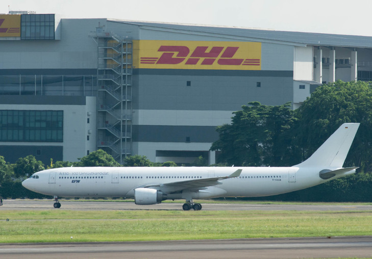 DHL Express launches inaugural passenger-to-freighter A330-300