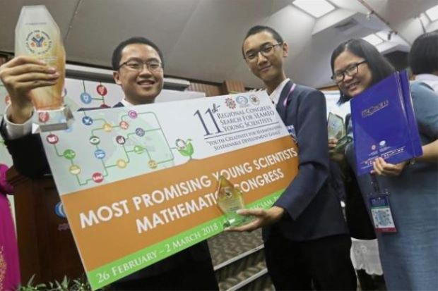 Penang duo are maths wizards of SEA