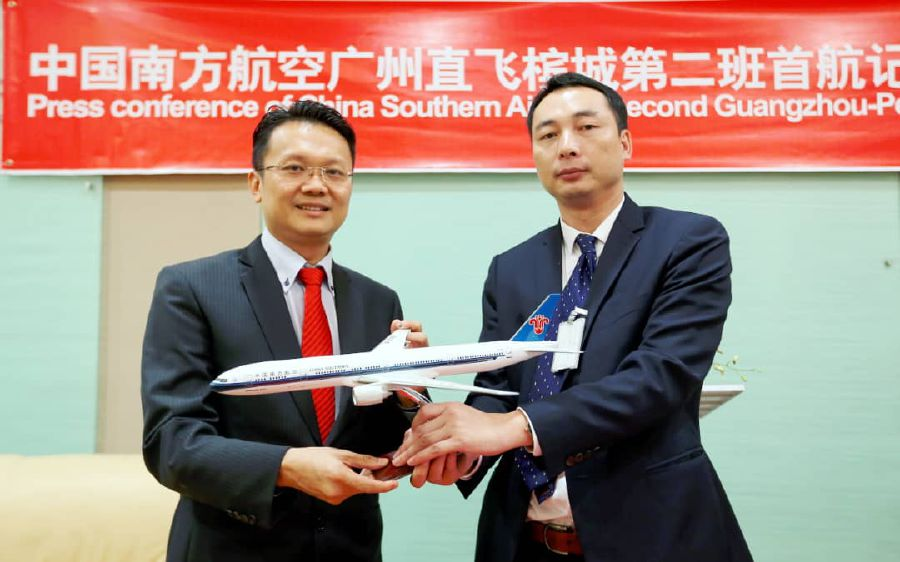 CSA increases flight frequency between Guangzhou and Penang, offering cheap fares for June