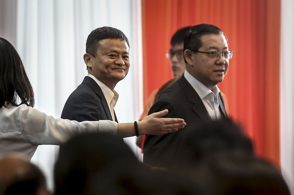 Alibaba founder Jack Ma invited to Penang