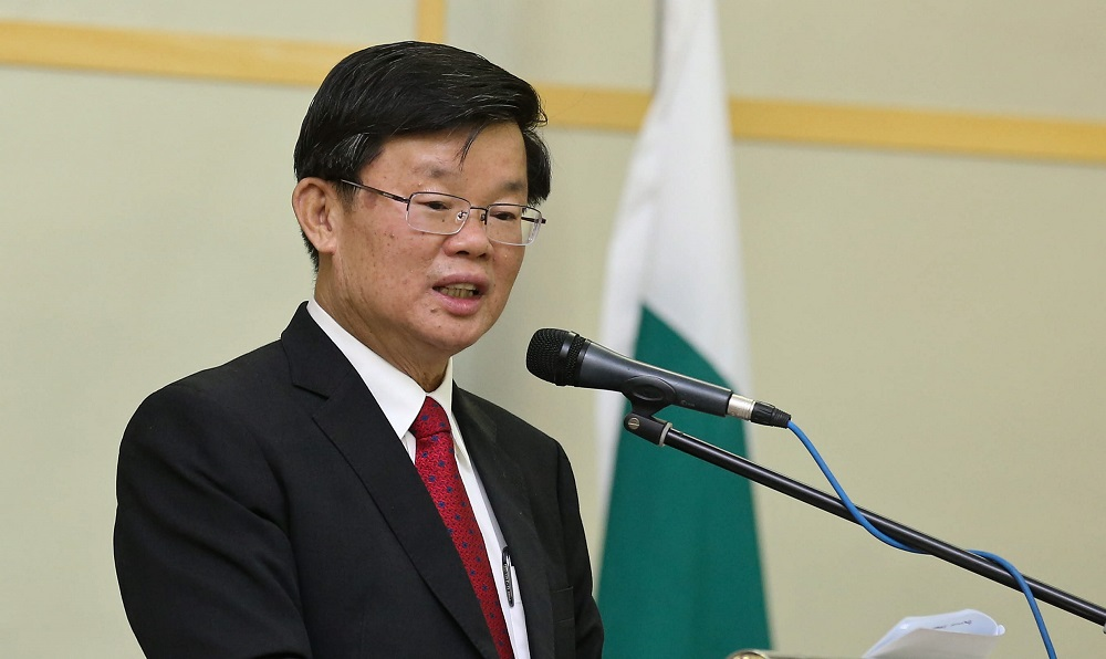 Penang recorded RM1.02b investments in Q1 of 2018, says chief minister