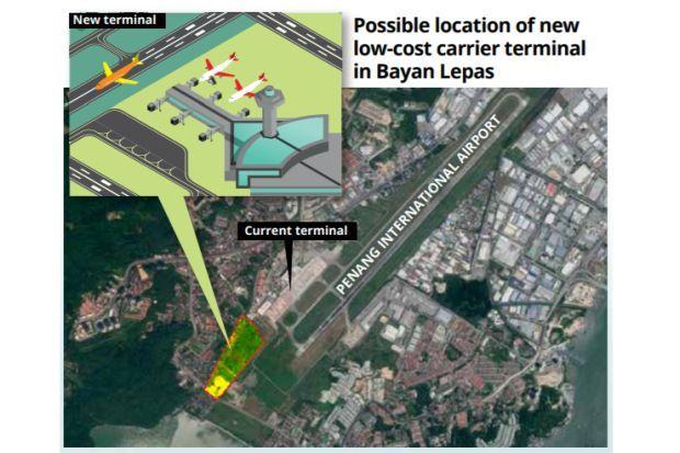 LCCT in Penang's flight plan