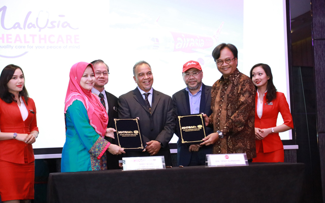 AirAsia Indonesia, MHTC to promote Penang's medical tourism sector