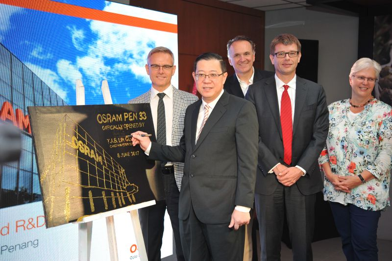 Osram opens new R&D centre in Penang, creates 300 new jobs
