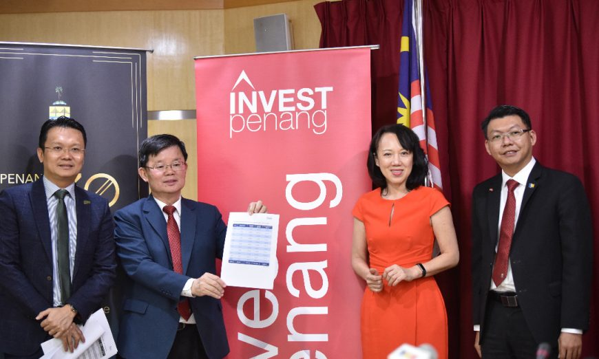 [Press Release] Penang Recorded RM13.3 Billion of Total Approved Manufacturing Investment in Jan-Sep 2019