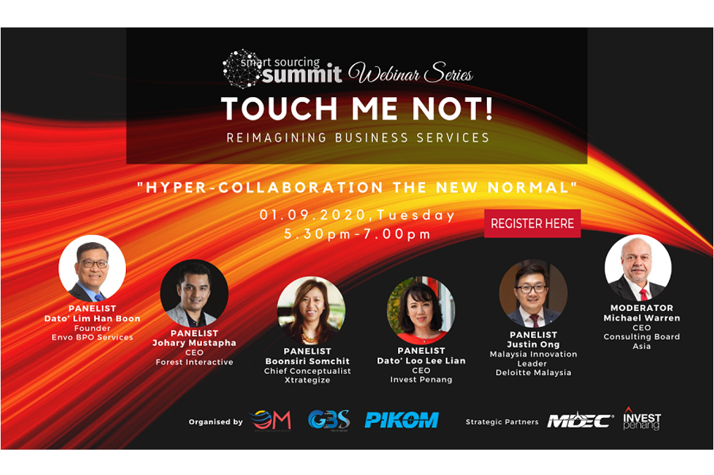 Smart Sourcing Summit Webinar Series 2020 themed Hyper- Collaboration the New Normal