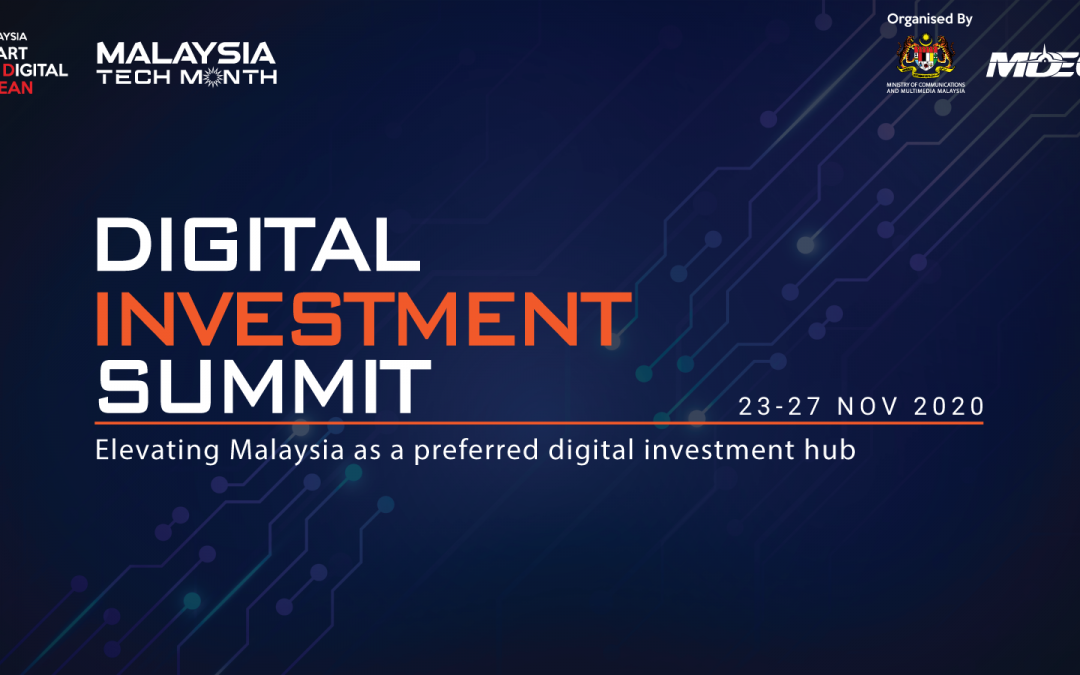 Digital Investment Summit for a GBS themed panel session discussing on Digitalization of GBS: Futureproofing Malaysia's Attractiveness as a Global Digital Services Hub