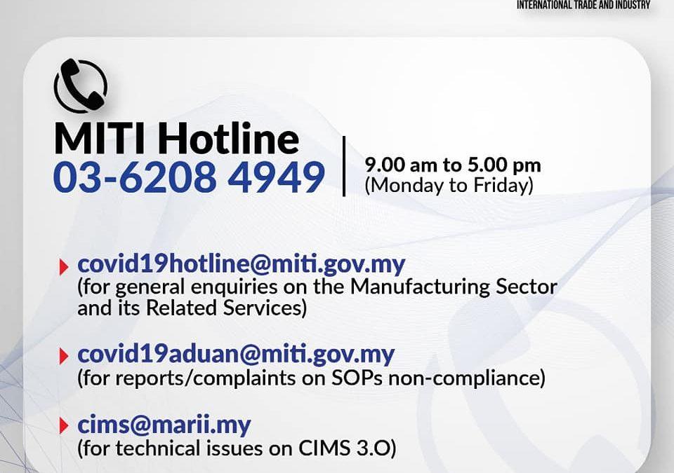 MITI Hotline