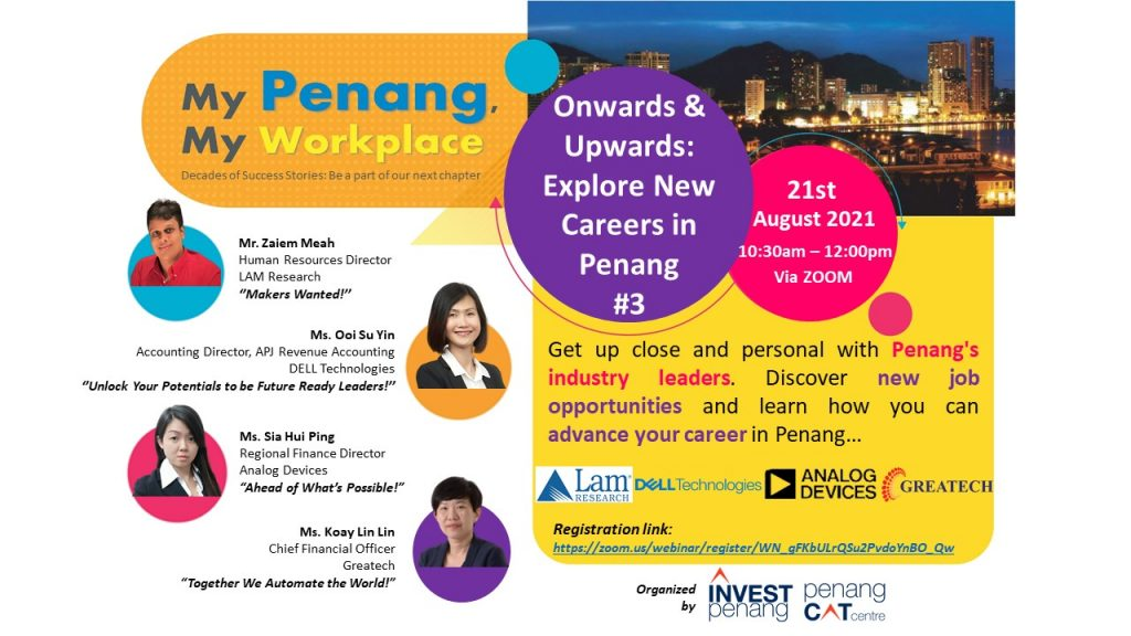 Onwards & Upwards: Explore New Careers in Penang #3
