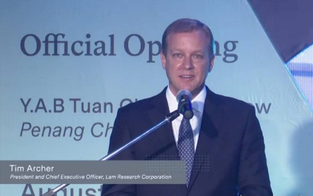 Lam Research Launches Manufacturing Plant in Penang with RM1b Investment