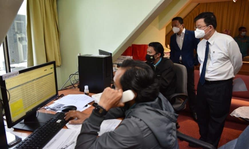 Newly-setup Penang Covid-19 Call Centre Begins Operation