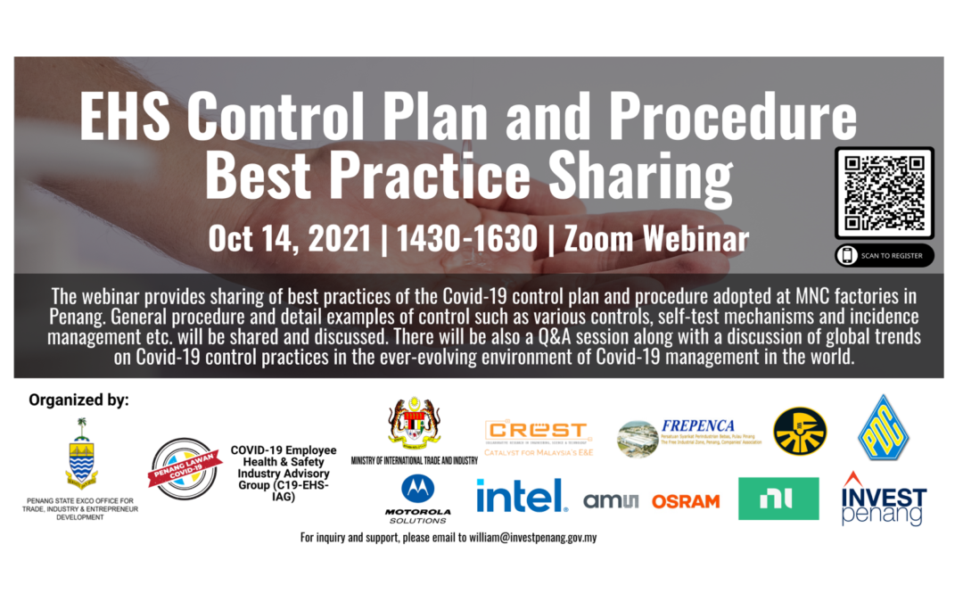 [Webinar] EHS Control Plan and Procedure Best Practice Sharing