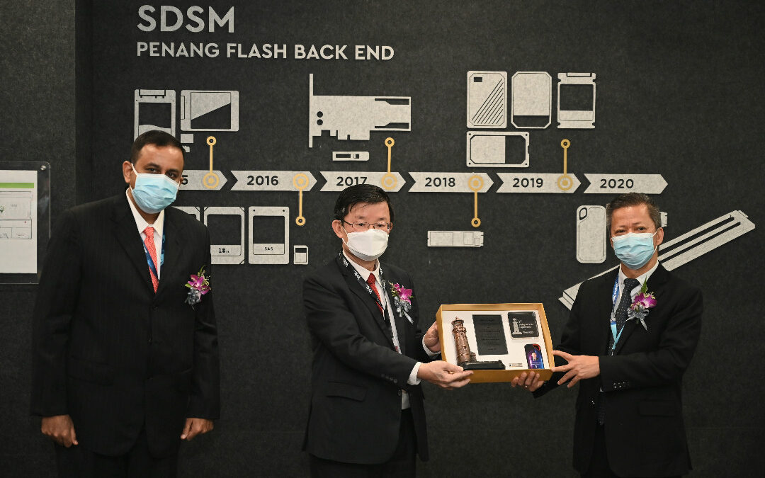 Penang State Government Lauds Western Digital Batu Kawan for Its Prestigious Lighthouse Network Award by the World Economic Forum